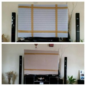 Packing your flat screen TV